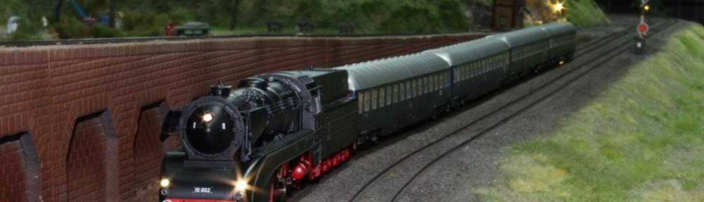 BR 10 auf Testfahrt